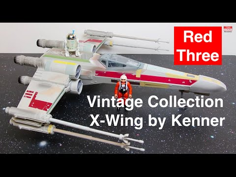 Star Wars Vintage Collection X-Wing Fighter by Kenner / Hasbro - Detailed Review + How To Assemble
