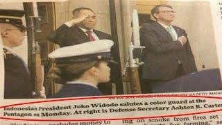 Lagi, Negara lain Salah Pasang Foto Presiden RI