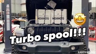 homepage tile video photo for JEEP WRANGLER JL TURBO COLD AIR INTAKE INSTALL TURBO SPOOL
