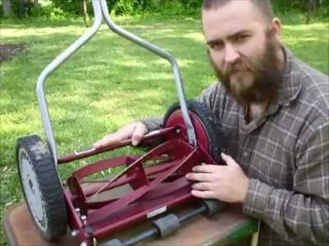 How To Set Up A Reel Mower Youtube