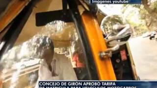 Concejo de Girón aprobó tarifa de matricula para vehículos Motocarros