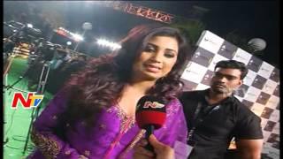 Shreya Ghoshal Thanks Telugu People @ @ IIFA Awards Hyderabad | NTV Exclusive