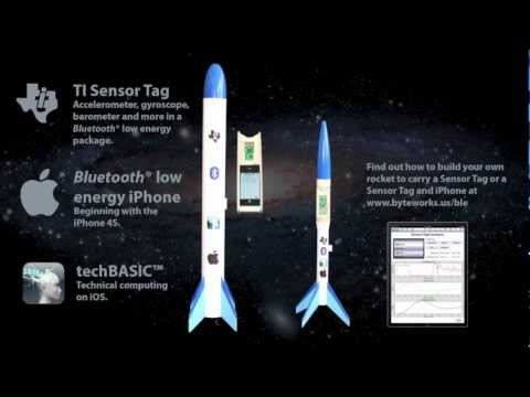 Bluetooth low energy iPhone Rocket Flight