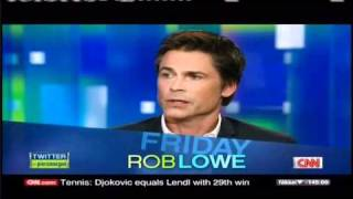 Rob Lowe on a dry run with 9-11 bombers