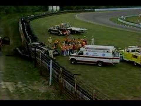 1991 Budweiser At The Glen - JD McDuffie Fatal Crash