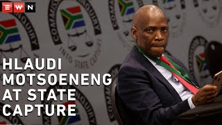 Former SABC COO Hlaudi Motsoeneng has testified at the state capture commission of inquiry. Motsoeneng addressed political interference at the SABC and meeting the Guptas.