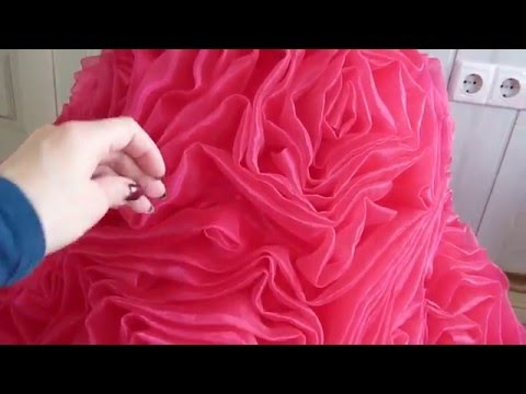 шикарное бальное платье