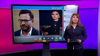 حلقة ماجد_المصري في برنامج شيخ_الحارة تتسبب في إيقاف البرنامج ومقدمته بسمة_وهبه