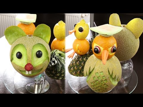 Figurine din fructe