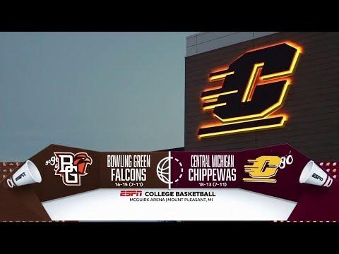 NCAA Men's Basketball - 2018-03-05 - Bowling Green At Central Michigan