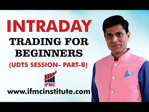 INTRADAY TRADING FOR BEGINNERS ll BASICS OF TREND ANALYSIS ll UDTS -21-DEC ll PART-B ll HINDI