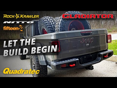 It's Finally Time For Rob To Really Start His Gladiator Build Up - Suspension, Wheels & Tires