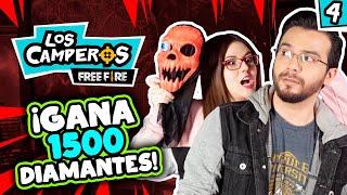 💎¡Gana 1500 diamantes en Free Fire!💎 - Los Camperos #4