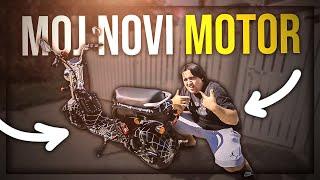 MOJ NOVI MOTOR ! *gg u komentarima*