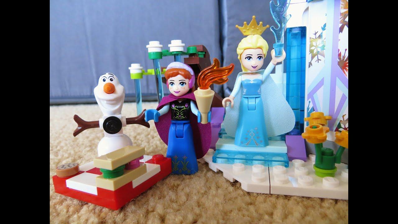 Lego Frozen Elsa S Sparkling Ice Castle 41062 Disney 2015