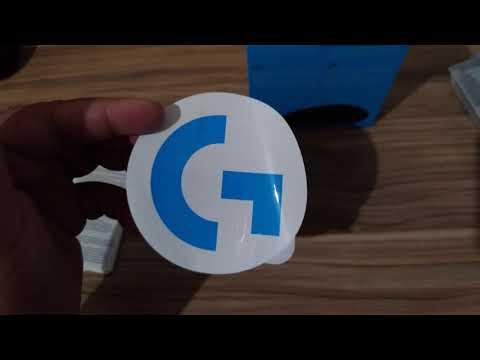 Mouse Logitech G305 - Unboxing
