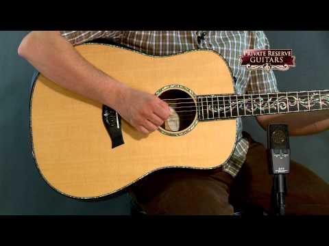 Taylor PS10e Dreadnought ES2 Acoustic Electric Guitar Natural