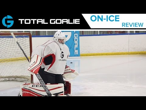 CCM Premier Pro Leg Pads // On-Ice Review - YouTube