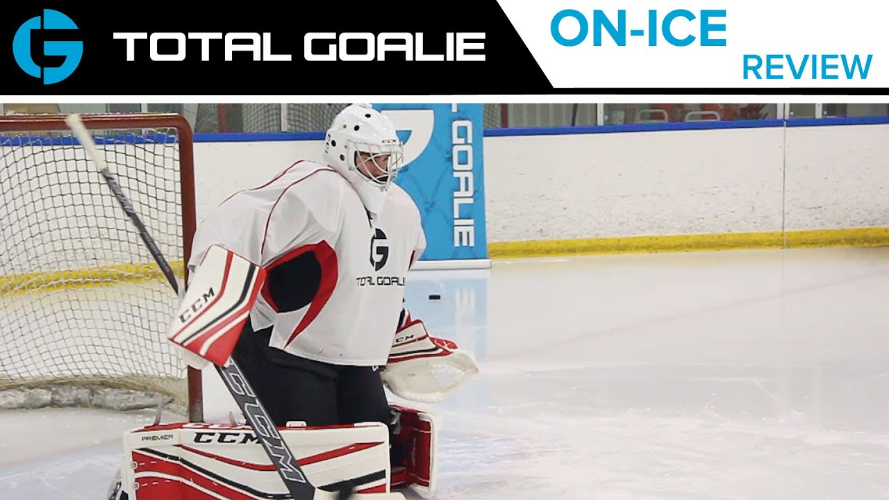 CCM Premier Pro Leg Pads // On-Ice Review