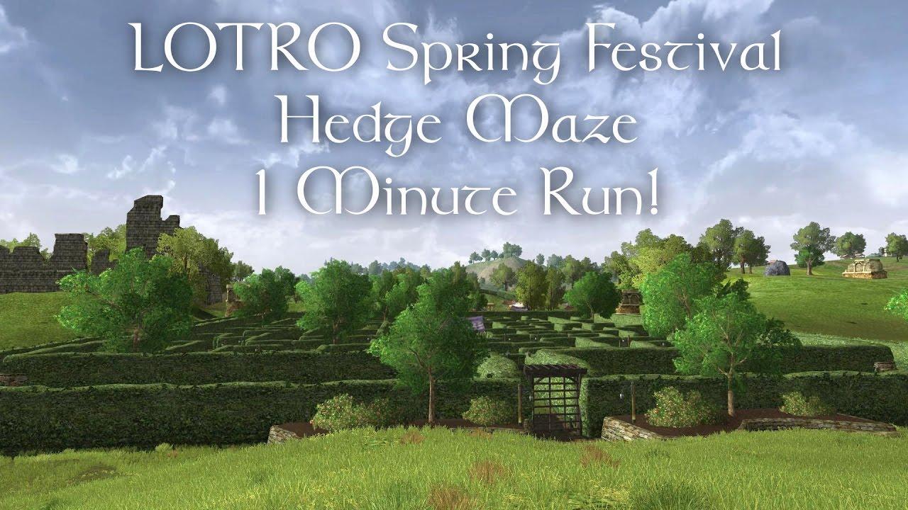 Lotro Spring Festival 2019 Events And Mounts Fibrojedi