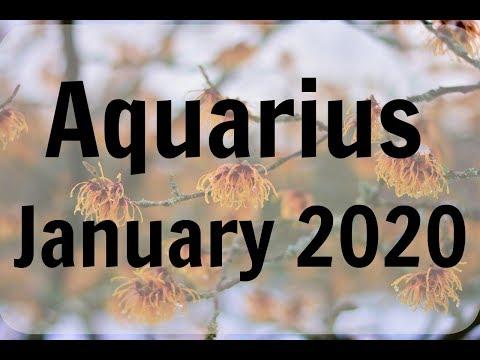 AQUARIUS JANUARY 2020 * YOU RECEIVE NEW INSIGHT: SHIFT OR ADJUSTMENT: POSITIVE PROGRESSION FORWARD