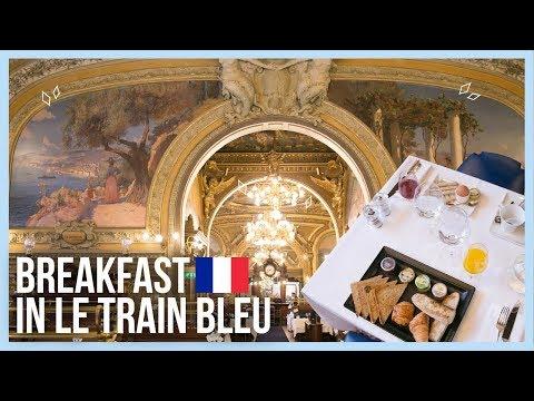 LE TRAIN BLEU | Elegant Breakfast in Paris Lyon Station