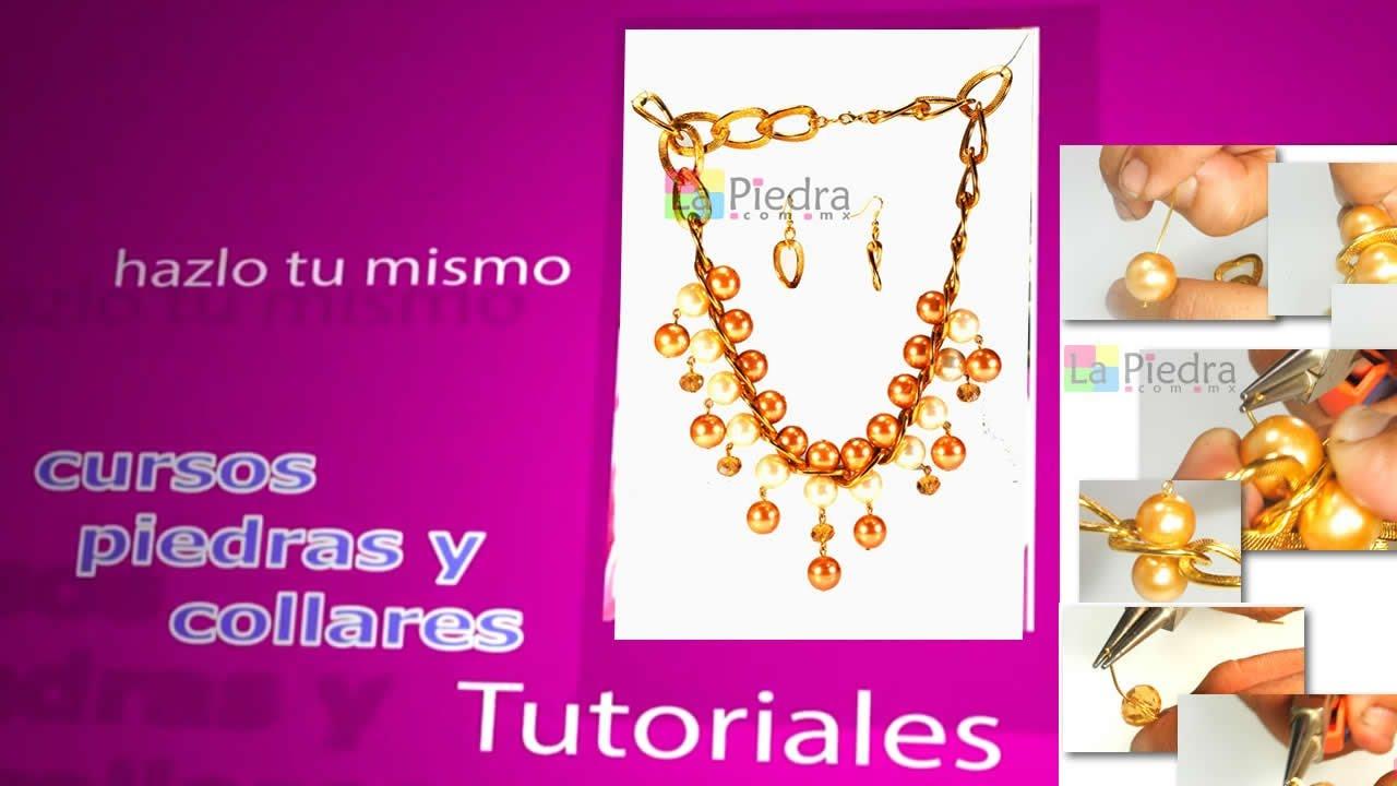 6d4a3bf84c38 collares de perlas en cadena