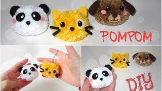 Como fazer Bichinhos de Pompom – DIY Pom Pom Animals