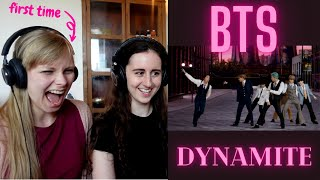 Singers First Reaction to BTS - Dynamite (LIVE)