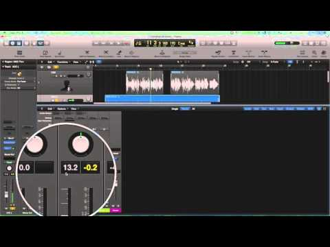 Logic Pro X - Pre-Fader vs. Post-Fader Metering