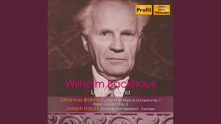 "Variations in F Minor, Hob. XVII:6, ""Un piccolo divertimento"": Keyboard Sonata in F Minor, Hob...."