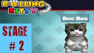 Rolling Kitty: Stage 2 • Gameplay by Mopixie.com