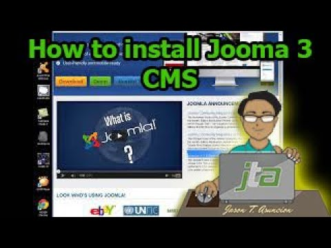 How to install Joomla 3 (CMS)