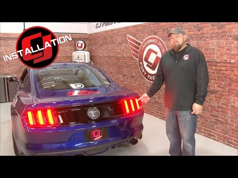 Mustang Diode Dynamics Sequencer Tail Light Kit 2010-2017 Installation