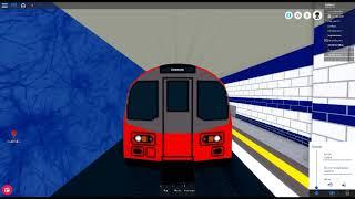 ROBLOX:Mind the Gap, RP Driving Jubilee Line de Stanmore à West Ham
