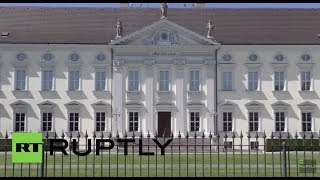 LIVE: President Gauck meets Queen Elizabeth II at the Presidential Palace in Berlin