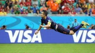 ТОП 10 лучших голов ЧМ Бразилия 2014