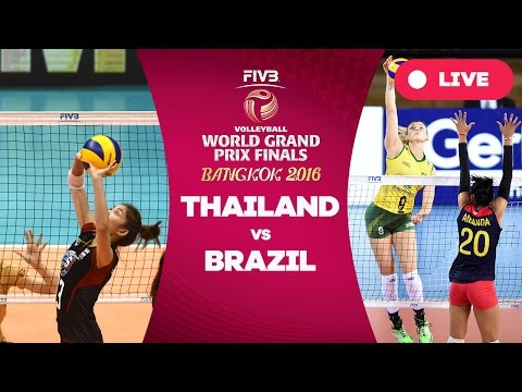 Thailand v Brazil - Group 1: 2016 FIVB Volleyball World Grand Prix