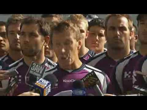 Melbourne Storm stand united