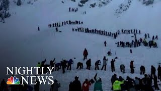 Desperate Search For Survivors Buried In New Mexico Avalanche | NBC Nightly News