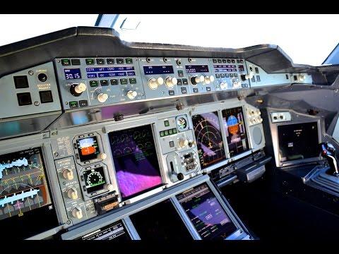 Qantas Airbus A380 / Sydney to L.A