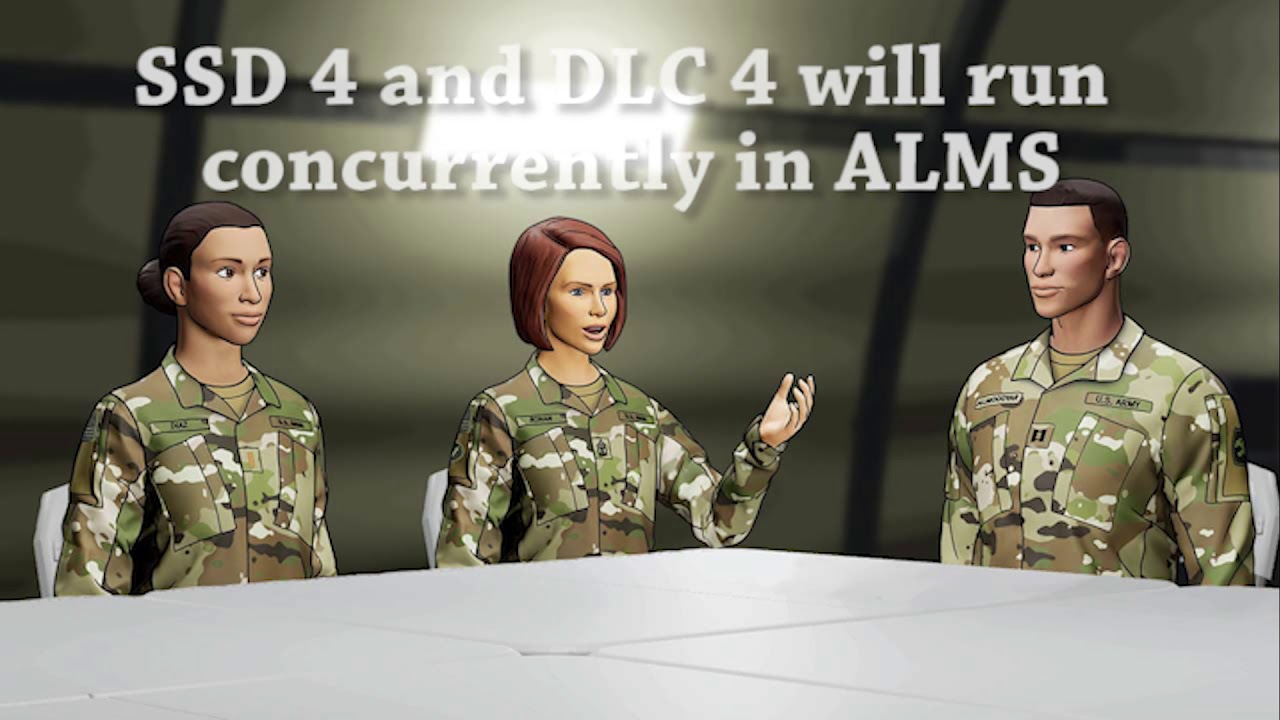 DLC 4 Develops sergeants first class to lead at the unit and organizational level. Soldiers develop the skills necessary to ensure the unit is ready, trained, proficient, disciplined, and motivated. The course prepares the learner for unit-level administrative and staff roles to ensure successful operations. 