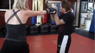 Sensei Benny Urquidez teaches the 4 basic kickboxing combinations