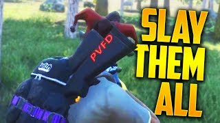 SLAY THEM ALL! (H1Z1 King of the Kill)