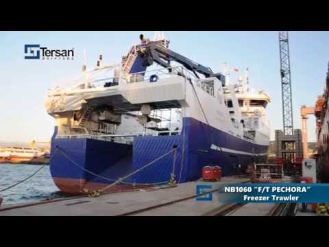"NB1060 ""F/T PECHORA"" Freezer Trawler was delivered"