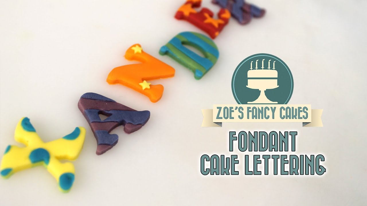 Fondant alphabet letters for cakes youtube fondant alphabet letters for cakes altavistaventures Image collections
