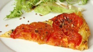 Tomato And Mustard Pie French Recipe Tarte Tomate-moutarde