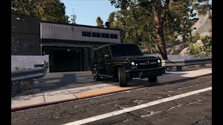 Mercedes AMG G63 Manual Customize   Test Drive   Need For Speed Payback - Brutal Exhaust Sound!