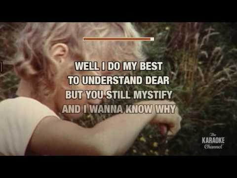 Cruel To Be Kind in the style of Nick Lowe | Karaoke with Lyrics