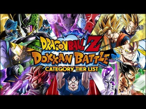 RANKING EVERY CATEGORY IN DOKKAN! CATEGORY TIER LIST! WHICH IS THE BEST? (DBZ: Dokkan Battle)